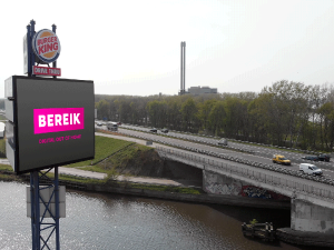 Adverteren langs de A17 - Roosendaal